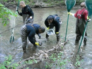 Gage Park student river stewardship Credit Pat Parsons